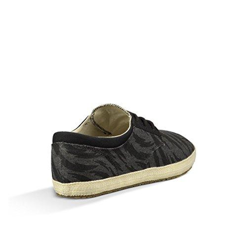 888855402831 - Sanuk Mens Cochise Loafers Shoes Footwear, Black Tigerbolt, Size 09 carousel main 3