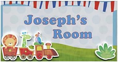 Joseph My Room Sign
