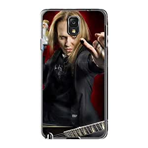 Excellent Hard Phone Cases For Samsung Galaxy Note3 (mxS3029FEDi) Unique Design Stylish Children Of Bodom Band Image