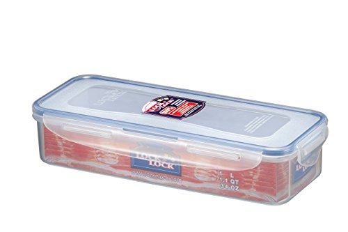 - Lock n Lock Food Container with Drain Grate, Water Tight Lid HPL842, 4.1-cup / 1L
