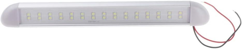 MagiDeal RV LED Exterior Porch Light 3.3W 10-30V IP67 Waterproof for Camper Marine Boat