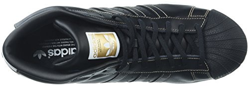 Gold Model Homme tactile Montantes Chaussures black Schwarz weiß gold white Pro Adidas 5qw6CPx