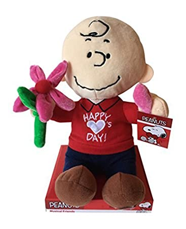 Charlie Brown Valentine Plush