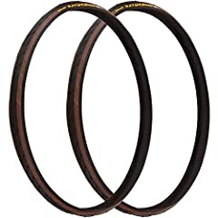 High mileage and puncture resistance team up in this fast-rolling, wire bead road tire from Continental. Made with DuraSkin polyamide fabric to ensure excellent sidewall protection without compromising weight or ride quality. Smooth in the ce...