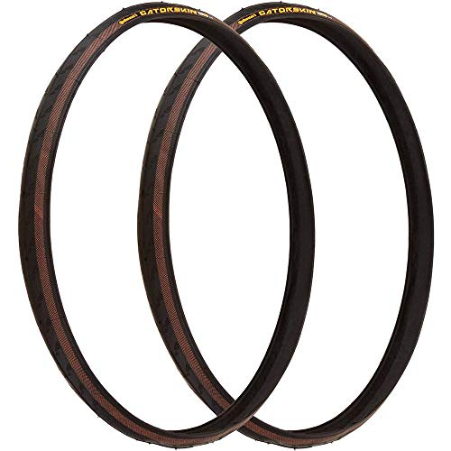 Continental Gatorskin DuraSkin Bicycle Tire (700x25, Wire Beaded, Black)