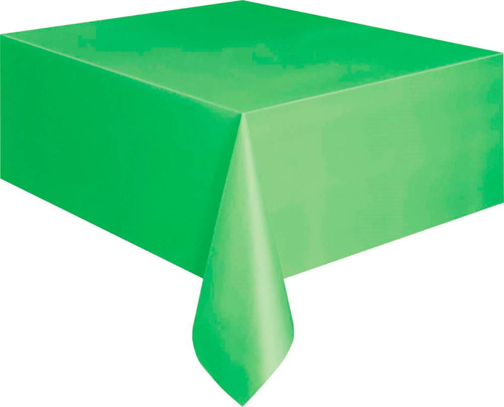 Amazon.com Unique Lime Green Rectangular Party Table Cover 54\  x 108\  Toys \u0026 Games  sc 1 st  Amazon.com & Amazon.com: Unique Lime Green Rectangular Party Table Cover 54\