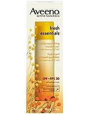 Aveeno Face Moisturizer with SPF 30, Fresh Essentials Nourishing Face Cream, 74 mL