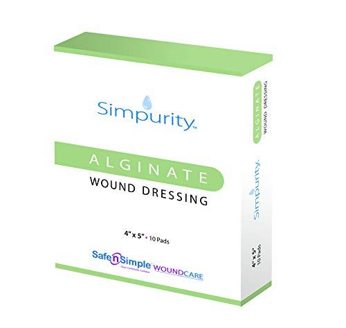 Simpurity Calcium Alginate Wound Dressing, 4