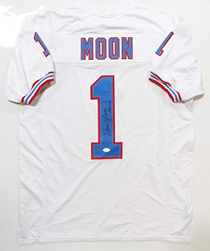 Image Unavailable. Image not available for. Color  Warren Moon Autographed  Jersey ... 0d6f98f46