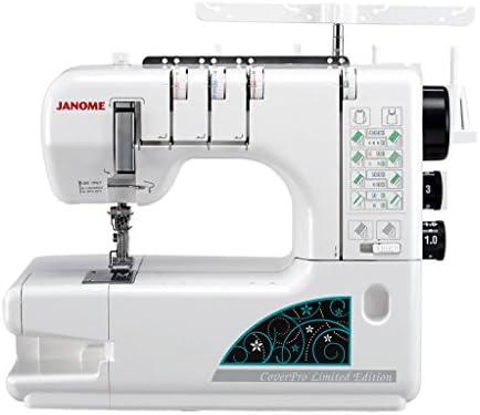 Janome Cover Pro 1000 CPX - Máquina de coser (con 3 cabezales): Amazon.es: Hogar
