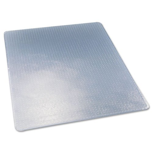 deflecto CM17443F ExecuMat Intense All Day Use Chair Mat for High Pile Carpet, 46 x 60, Clear ()