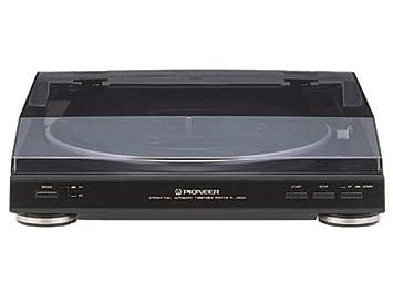 Amazon.com: Pioneer pl-j2500 estéreo Turntable Negro de ...