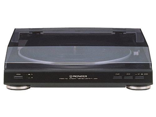 PIONEER PL-J2500 stereo turntable Black from JAPAN