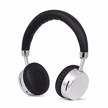 Meidong E6 Bluetooth Auriculares Estéreo Inalámbricos Auriculares con Micrófono, Diseño Ergonómico para Niños Adultos: Amazon.es: Electrónica