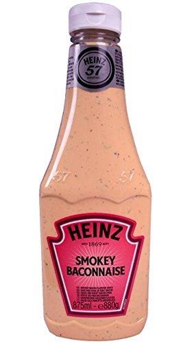 Heinz Smokey Baconnaise Tafelsaus Kruiderij 875ml NIEUW