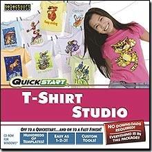 Quickstart T-Shirt Studio (Cad Program Software)