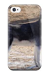 New Esther Bedoya Super Strong Siberian Husky Dog Tpu Case Cover For Iphone 4/4s