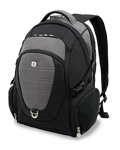 Wenger Laptop Rucksack, 40 Liter, Schwarz/Grau