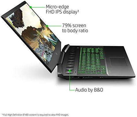 HP Pavilion Gaming Laptop 17-inch, Intel Core i7, NVIDIA GeForce GTX 1660 Ti with Max-Q, 16 GB RAM, 256 GB SSD, Windows 10 Home (17-cd1030nr, Shadow Black) 4175SCJZIGL