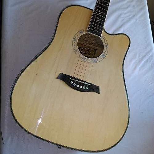 Guitarra seca Folk de 41 pulgadas, color natural: Amazon.es ...