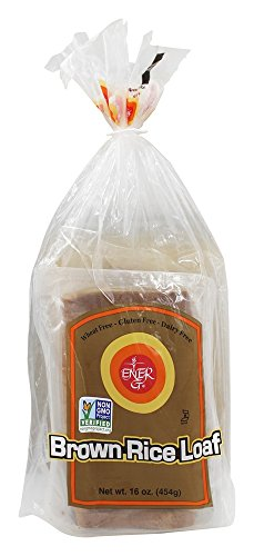 Ener-G - Bread Brown Rice Loaf Gluten Free - 16 oz (pack of 2) (Gluten Free Rice Bread)