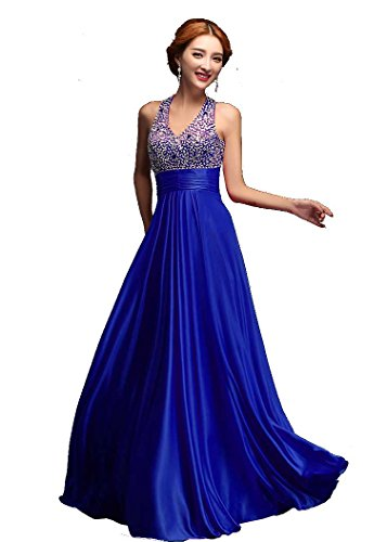 BeautyEmily VAusschnitt Pailletten lange formale AbendKleider ...