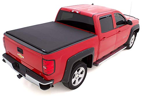- Lund 958186 Genesis Elite Tri-Fold Truck Bed Tonneau Cover (for 2016-2018 Toyota Tacoma | Fits 5' Bed)