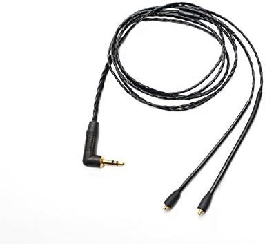 [해외]NOBUNAGA Labs PREMIUM 검은 악마 (로스 메기) 3.5 mmL 형식 플러그 MMCX 커넥터 リケ?ブル NLP-KRO / NOBUNAGA Labs PREMIUM Kurooni Kuroo 3.5mmL Plug MMCX Connector Recable NLP-KRO