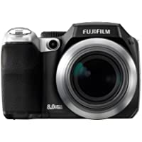 FUJIFILM Digital Camera FinePix S8000fd 8MP 18x Optical Zoom FX-S8000FD - International Version