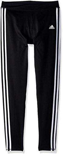 adidas Girls' Big Performance Tight Legging, Black Adi, Medium