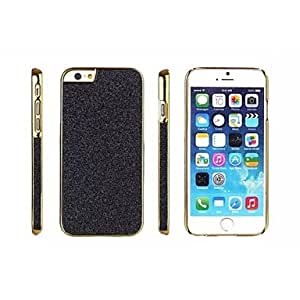 PG Plastic and Metal Material Side Stick Flash Powder Combined Protection Shell for iPhone 6 Plus (Blue)