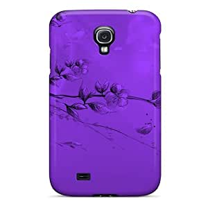 Snap-on Case Designed For Galaxy S4- Dream In Purple