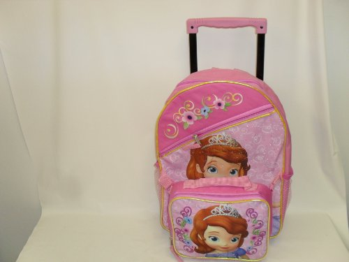 Sofia the First Rolling Backpack