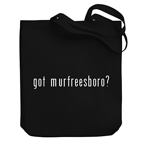 Teeburon Got Murfreesboro? Canvas Tote - Shopping Murfreesboro