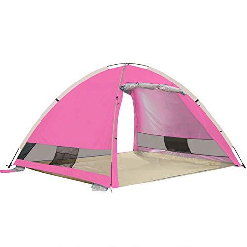 北へ判定専門化するASdf 屋外防水UV保護テント自動3-4人ビーチ屋外キャンプテント