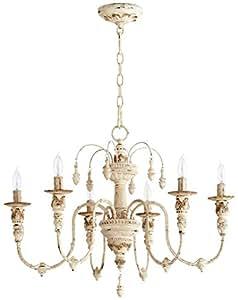 Quorum 6316 6 70 salento 25 6 light chandelier in persian white quorum 6316 6 70 salento 25quot 6 light chandelier in persian white aloadofball Images
