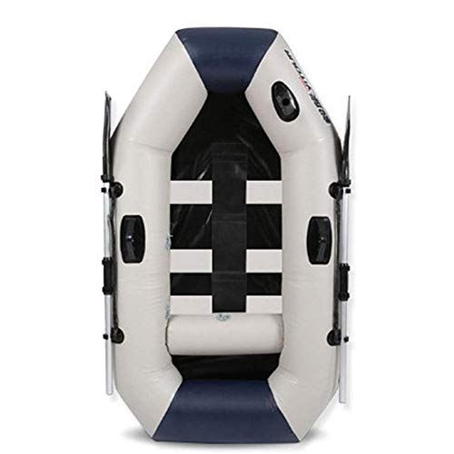 LLSZ Deluxe 1 Person Inflatable Portable Sport Kayak Canoe with/Paddles