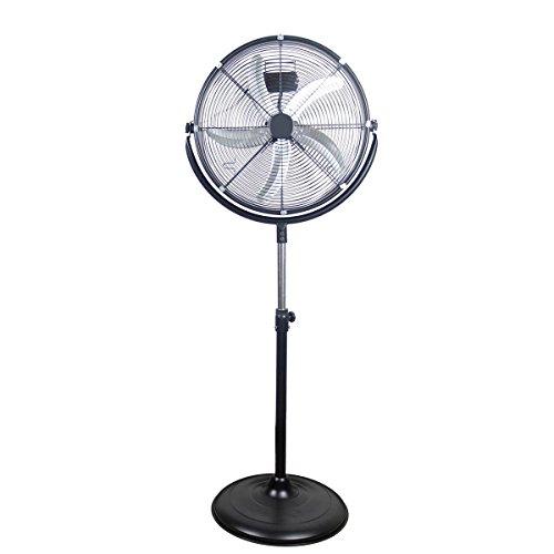 "Polar-Aire 20"" High Velocity Pedistal Fan"