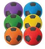 Foam Soccer Balls Set of 6