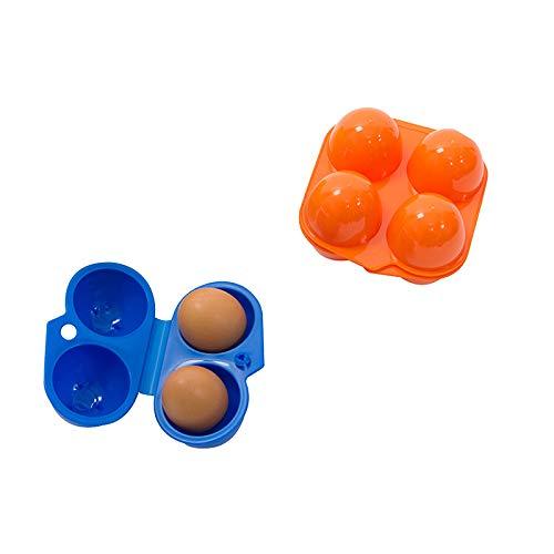 TOOGOO Camping Egg Box Plastic Egg Box Egg Storage Box Portable Egg Box 4 Egg Box by TOOGOO (Image #1)