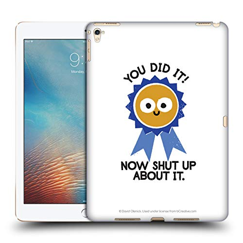 - Official David Olenick Boast Likely to Suceed Medal Objects Hard Back Case for iPad Pro 9.7 (2016)