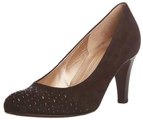 Gabriela Sabatini Roxburgh - Zapatos de tacón negro - Black Suede
