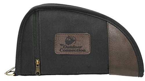 The Outdoor Connection 11'' Canvas Pistol Case, black, 11'' by Outdoor Connection