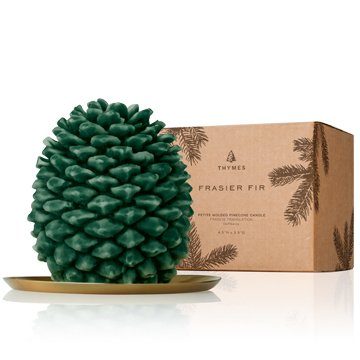 Thymes Frasier Fir Northwoods Pinecone Candle, Petite