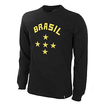 COPA Football - Camiseta Retro Portero Brasil años 1960 (XL): Amazon.es: Deportes y aire libre