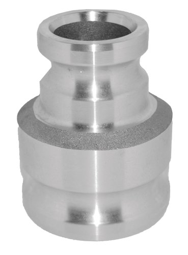 PT Coupling SA Series SA20X30 Stainless Steel Reducer Cam and Groove Hose Fitting, SA Spool Adapter, 2