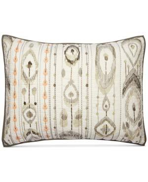 Martha Stewart Freebird 100% Cotton Reversible Quilted Standard Sham