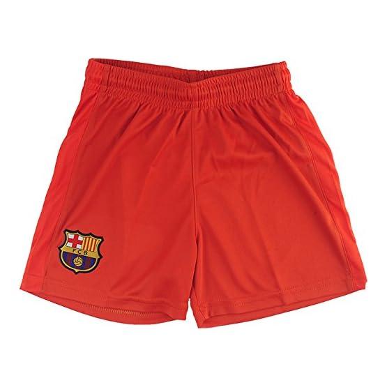 Fc Barcelone Ensemble Maillot + Short Barça - Collection Officielle Taille Enfant
