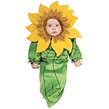Rubies Costume Baby Girl's Sunflower Bunting Infant Costume, Multi, 0-9 Months
