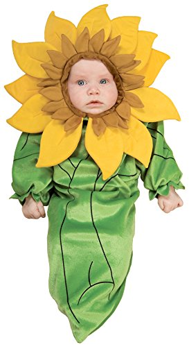 Rubie's Baby Girl's Sunflower Bunting Infant Costume, Multi, 0-9 Months